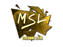 MSL (Gold) | Cologne 2016