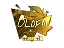 olofmeister (Gold) | Cologne 2016