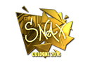 Sticker | Snax (Gold) | Cologne 2016