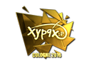 Sticker | Xyp9x (Gold) | Cologne 2016