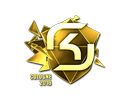 Sticker | SK Gaming (Gold) | Cologne 2016