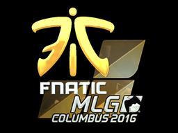 Fnatic+%28Foil%29+%7C+MLG+Columbus+2016