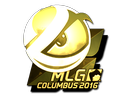 Sticker | Luminosity Gaming (Gold) | MLG Columbus 2016
