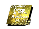 fer (Gold) | MLG Columbus 2016