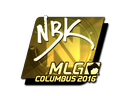 NBK- (Gold) | MLG Columbus 2016