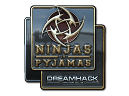 Ninjas+in+Pyjamas+%28Foil%29+%7C+DreamHack+2014