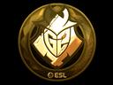 Sticker | G2 Esports (Gold) | Katowice 2019