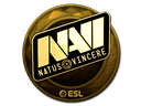 Sticker | Natus Vincere (Gold) | Katowice 2019