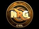 Sticker | NRG (Gold) | Katowice 2019
