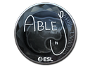 ableJ (Foil) | Katowice 2019