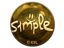 s1mple (Gold) | Katowice 2019