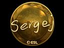 sergej (Gold) | Katowice 2019