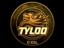 Sticker | Tyloo (Gold) | Katowice 2019