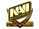 Sticker | Natus Vincere (Gold) | Krakow 2017
