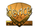 device (Gold) | Krakow 2017