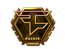 Sticker | FaZe Clan (Gold) | London 2018