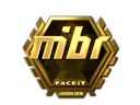 Sticker | MIBR (Gold) | London 2018