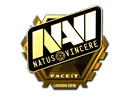 Sticker | Natus Vincere (Gold) | London 2018