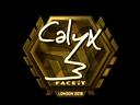 Calyx (Gold) | London 2018