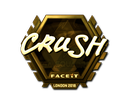 crush (Gold) | London 2018