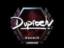 dupreeh (Foil) | London 2018