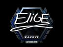 EliGE (Foil) | London 2018
