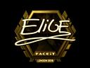 EliGE (Gold) | London 2018