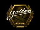 Golden (Gold) | London 2018