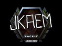 jkaem (Foil) | London 2018