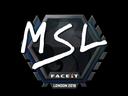 MSL | London 2018