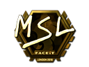 MSL (Gold) | London 2018