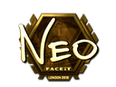 NEO (Gold) | London 2018