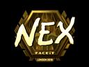 nex (Gold) | London 2018