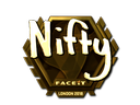 Nifty (Gold) | London 2018