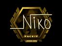 niko (Gold)  | London 2018