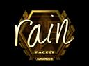 rain (Gold) | London 2018