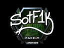 S0tF1k (Foil) | London 2018