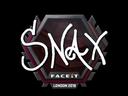 Snax | London 2018