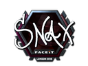 Snax (Foil) | London 2018