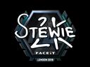 Stewie2K (Foil) | London 2018