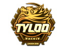 Sticker | Tyloo (Gold) | London 2018