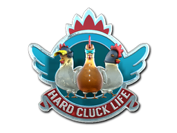 Hard+Cluck+Life+%28Foil%29
