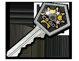 Revolver Case Key