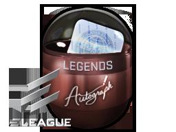Autograph Capsule | Legends (Foil) | Atlanta 2017