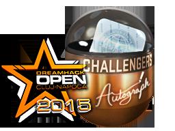 Autograph+Capsule+%7C+Challengers+%28Foil%29+%7C+Cluj-Napoca+2015