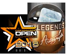 Autograph+Capsule+%7C+Legends+%28Foil%29+%7C+Cluj-Napoca+2015