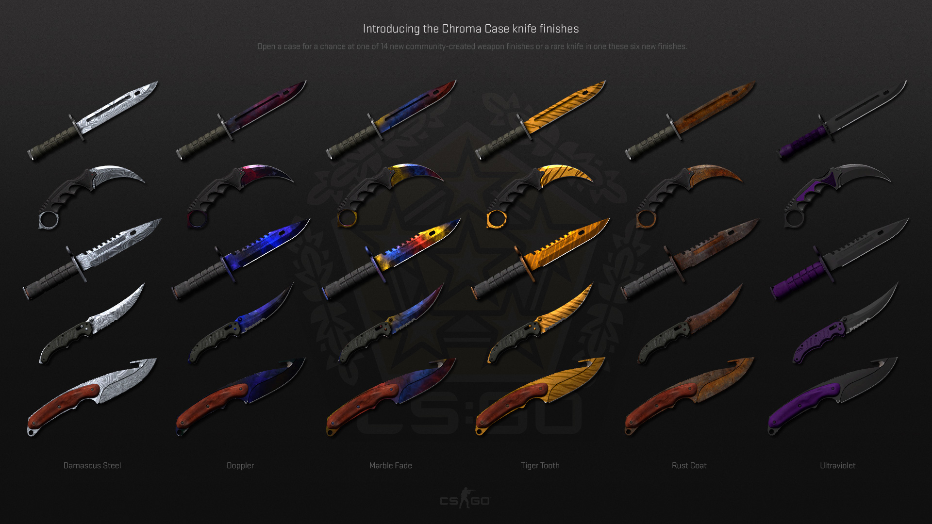 Counter-Strike: Global Offensive » Chromatic Scale