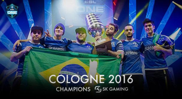 Cologne 2016 — Шампиони