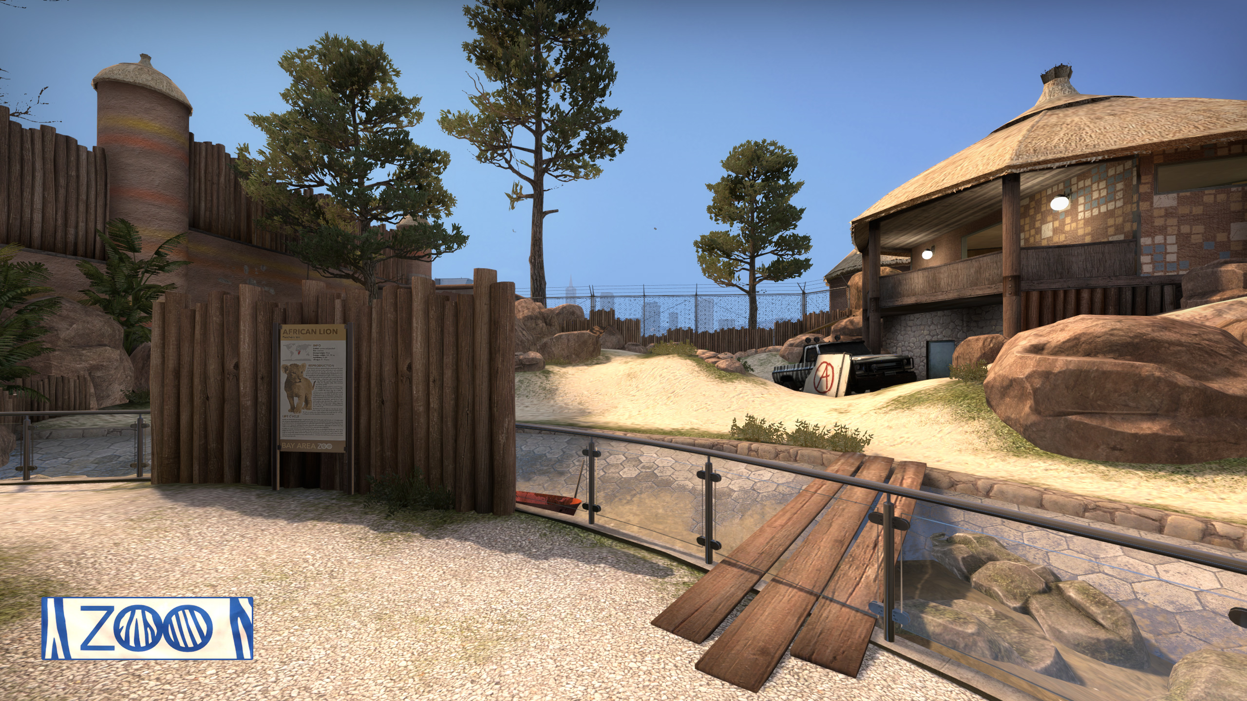 Counter-Strike: Global Offensive » From Abbey to Zoo