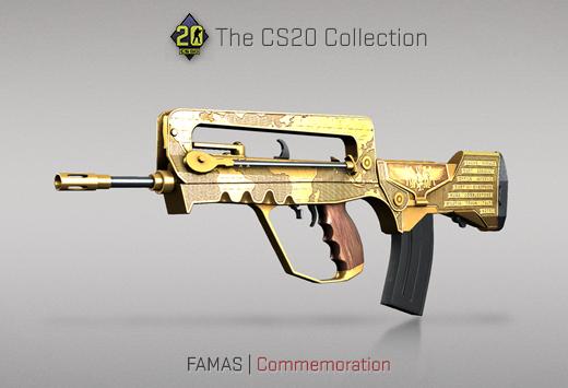 "Колекцията ""Counter-Strike 20"" — FAMAS | Честване | Commemoration"